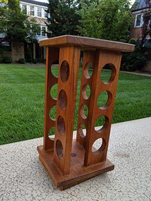 Vintage wooden swivel Spice Rack Selandia Danish for Sale in Washington, DC