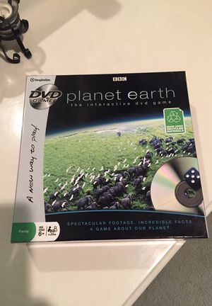 Planet Earth Interactive DVD game for Sale in Round Rock, TX