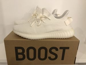 Adidas Yeezy Boost 350 Triple Whites. Size 10. AUTHENTIC! NIB. for Sale in Boston, MA