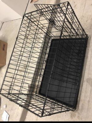 Medium dog crate 30.5L. 20W 23height for Sale in Houston, TX