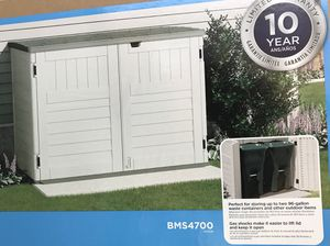 Stow Away Horizontal Shed by Suncast Brand New in Box for Sale in Lauderhill, FL