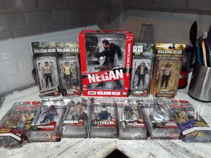 Walking dead collection action figures for Sale in Pasadena, TX
