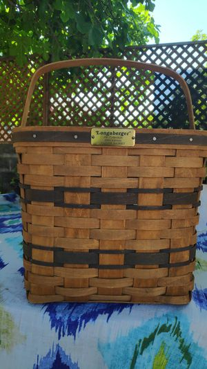Longaberger Baskets Handwoven for Sale in San Jose, CA