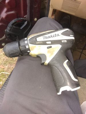Makita 12 volt drill no battery for Sale in Mount Olive, NC