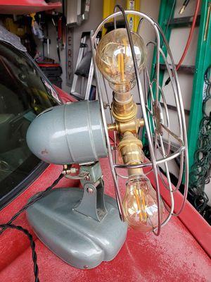 Vintage fan lamp for Sale in Huntersville, NC