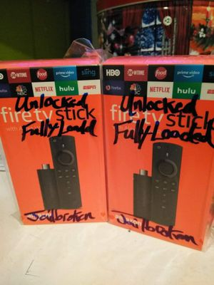 FireTvStick MEGA20 FULLY-LOADED Adults Only for Sale in Houston, TX
