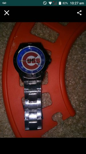 Custom Chicago cubs watch for Sale in Falls Church, VA