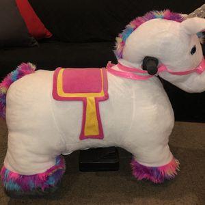 Unicorn Plush Ride-On for Sale in Arlington, VA