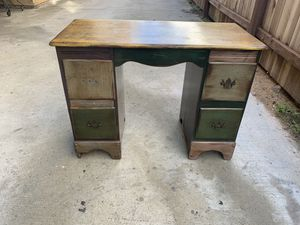 Antique desk for Sale in Huntington Beach, CA
