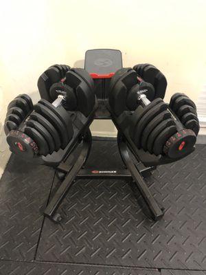 Bowflex Dumbbells 10 to 90 lbs each for Sale in Boca Raton, FL