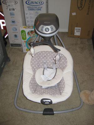 Graco Abbington Simple Sway Baby Swing for Sale in Traverse City, MI
