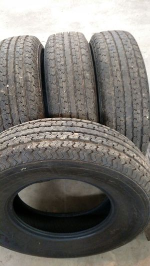 Towmax Power King STR ST235/80r16 10ply load range E we're installed in FLA and removed in PA Like new. 75.00 ea for Sale in Mount Pleasant, PA