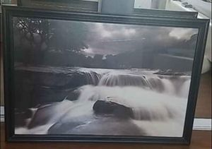 Flowing River Picture Wall Art for Sale in Los Angeles, CA