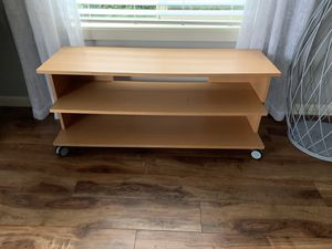 """TV Stand on the wheels !!! 16"""" D 20"""" H 48"""" W for Sale in Vancouver, WA"""