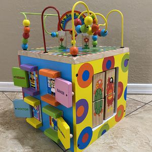 NEW Alex Discover My Busy Town Wooden Activity Cube for Sale in Sun City, AZ