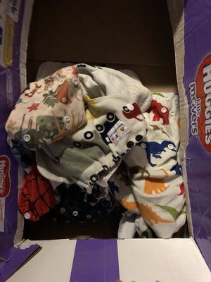 5 Alva cloth diapers and inserts for Sale in University Place, WA