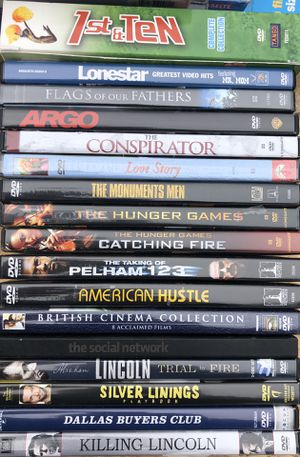 Lot of 19 DVDs for Sale in Lauderhill, FL