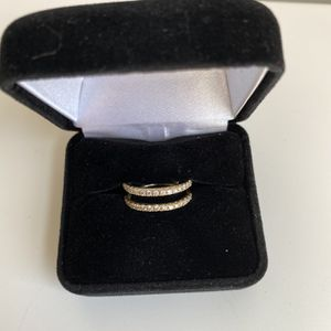 Diamond Gold Wedding Band (wrap/jacket) for Sale in Denver, CO