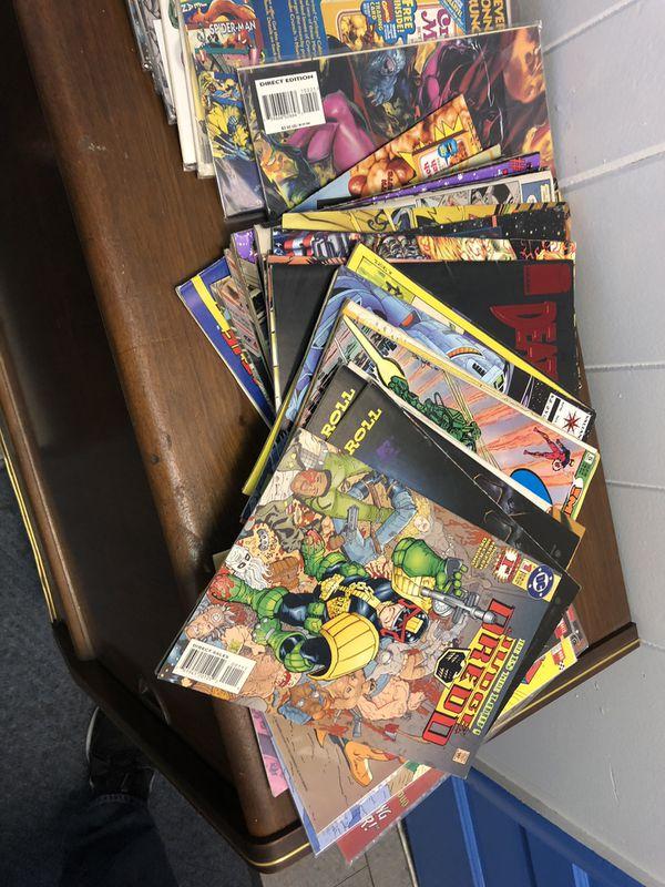 60 vintage comics