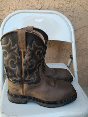Ariat composite toe work boots size 7D for Sale in Riverside, CA