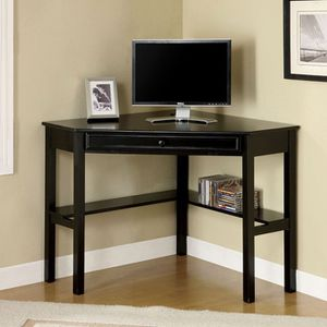 Corner Writing Desk In Black Finish for Sale in Industry, CA