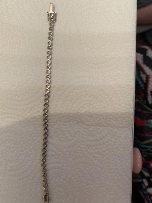 Silver cz tennis bracelet for Sale in West Columbia, SC