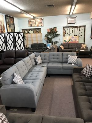 Reversible Sectional No credit financing available for Sale in North Highlands, CA