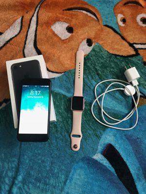 Unlocked iPhone Apple Watch for Sale in Kirkwood, MO