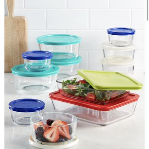 Extra 40% OFF New in box Pyrex 22 Piece Food Storage Container Set for Sale in Secaucus, NJ