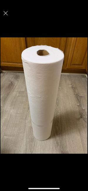 Non woven filter for mask 130 yards roll for $80 stop paying 2.99 per yard for Sale in Cumberland, RI