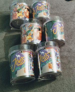 Six water tumblers never used $7 a piece or $30 for all six for Sale in Lincoln, NE