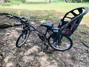 """18"""" Bike with baby seat attached for Sale in Wichita, KS"""
