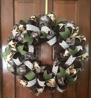Camouflage Wreath for Sale in Lexington, SC