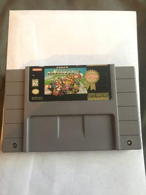 Super Mario Kart Super Nintendo retro game for Sale in Baltimore, MD