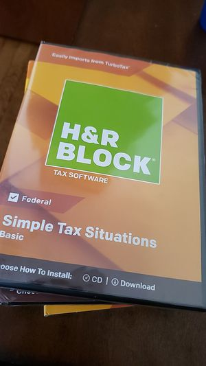 H&R Block software for Sale in Brooklyn, NY