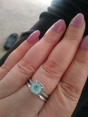 Aquamarine ring for Sale in Grover Beach, CA