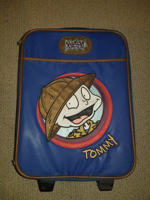 Vintage 90s Nickelodeon Rugrats Rolling Suitcase Luggage for Sale in Palos Hills, IL