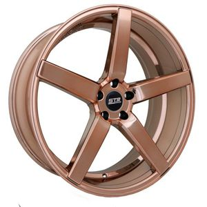 "Rose Gold STR607 20"" Wheels (Rims) with a set of new tires, mounted, balanced, & installed! for Sale in Orlando, FL"