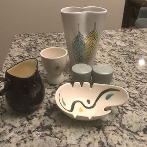 mid century modern assortment 7 items for Sale in Phoenix, AZ
