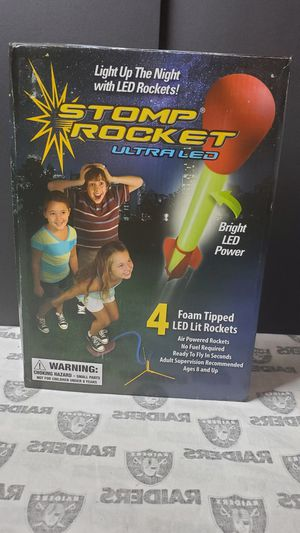 Stomp Rocket ~ Light up with LED Rockets for Sale in Santa Ana, CA