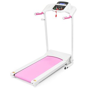 Gym Fitness Electric a Foldable Treadmill Indoor/Outdoor Pink/Black for Sale in Los Angeles, CA