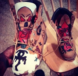Customized timberland boots. Timbs for Sale in Saint Louis, MO