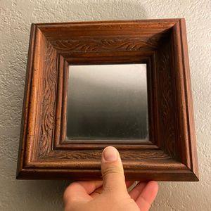 Vintage carved wood framed mirror for Sale in Everett, WA
