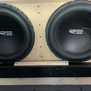 RE Audio Subwoofers for Sale in Signal Hill, CA