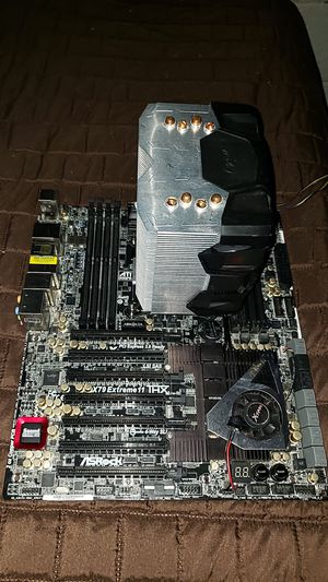 Asus x79 extreme 11 witt CPU i7 3820 for Sale in Philadelphia, PA