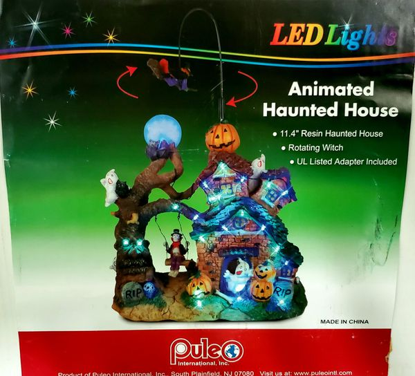 Animated LED Haunted House in Box