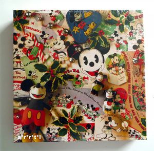 Vintage Mickey Christmas Memories 500 Piece Puzzle for Sale in Marietta, GA