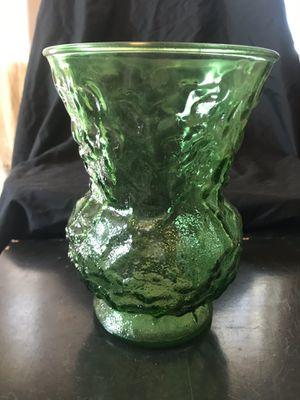 Vintage E.O Brody Crinkled Glass Vase for Sale in Wichita, KS