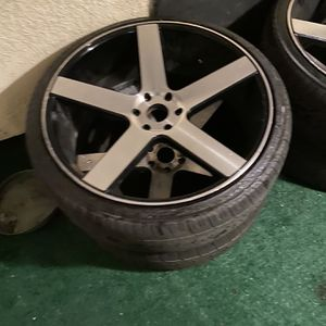 "6Lug 26"" Rims And Good Tires Holds Air for Sale in Riverside, CA"