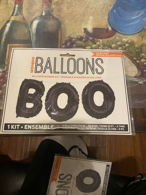 """BOO"" Halloween Balloons for Sale in Moreno Valley, CA"
